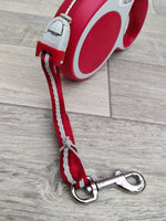 Flexi Vario Small Red Cord Lead 5m
