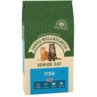 James Wellbeloved Cat White Fish Rice Senior 1.5kg