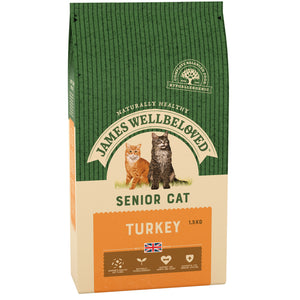 James Wellbeloved Cat Turkey & Rice Senior 1.5kg