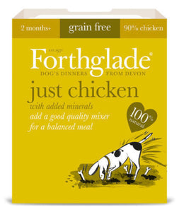 Forthglade Just Chicken Grain Free 395g
