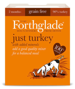 Forthglade Just Turkey Grain Free 395g