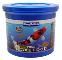 King British Pond Fish Food Flakes 150g