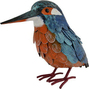 Supa Garden Decor Metal Kingfisher