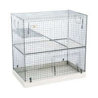 Wire Rodent Cage For Hamster, Rat, Ferret 3 Stories