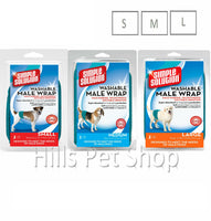 Simple Solution Dog Washable Male Wrap Diaper Pants Small Medium Large