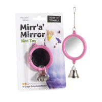 Ruff 'N' Tumble Mirr 'a' Mirror With Bell Bird Toy