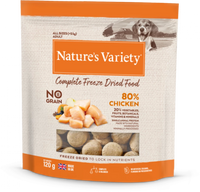 Natures Variety Complete Freeze Dried Dog Food Chicken Chunks 120g