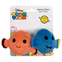 Tsum Tsum Nemo & Dory Cat Toy Balls 2 Pack