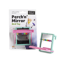 Sharples Perch 'n' Mirror Bird Toy