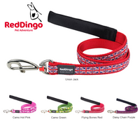 Red Dingo Dog Leads