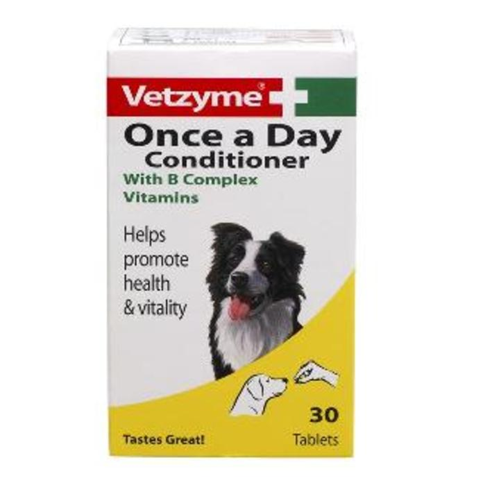 S Vetzyme Once A Day 30 Tablets