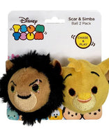 Tsum Tsum Scar & Simba Cat Toy Balls 2 Pack
