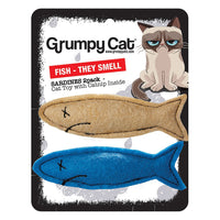 Grumpy Cat Smelly Sardines