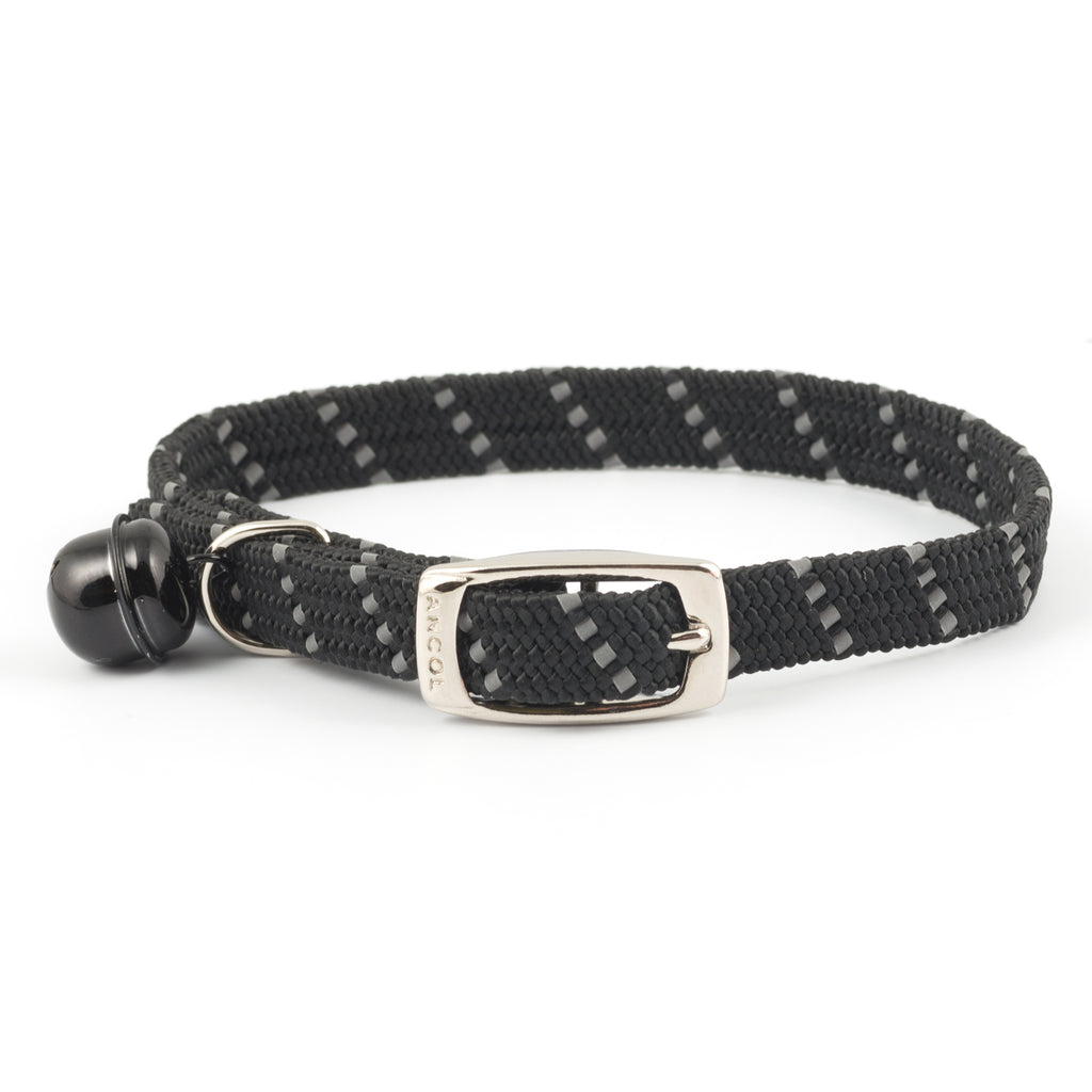 Ancol Softweave Cat Collar Black