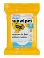 Petkin Dog Sunscreen Wipes SPF 15 20Pcs