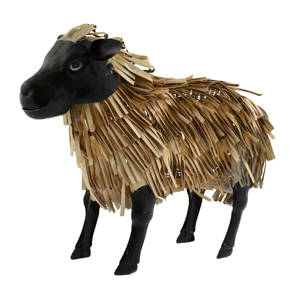 Supa Garden Decor Metal Sheep 43cm