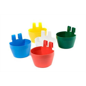 Supa Plastic Cage Cups Assorted Colours