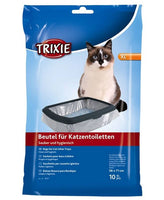Trixie Litter tray bags XL: up to 56 × 71 cm, 10 pcs