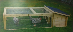 Helmes The Garden Flat - Suitable For Rabbits, Guinea Pigs, Hens