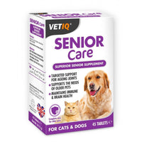 M & C Vet IQ Senior Care Tablets 45 Tabs