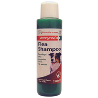 Vetzyme Dog Flea Shampoo 250ml