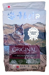 Akela Dog Original 80/20 Grain Free Medium Paws