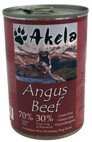 Akela Angus Beef Dog Can 400g