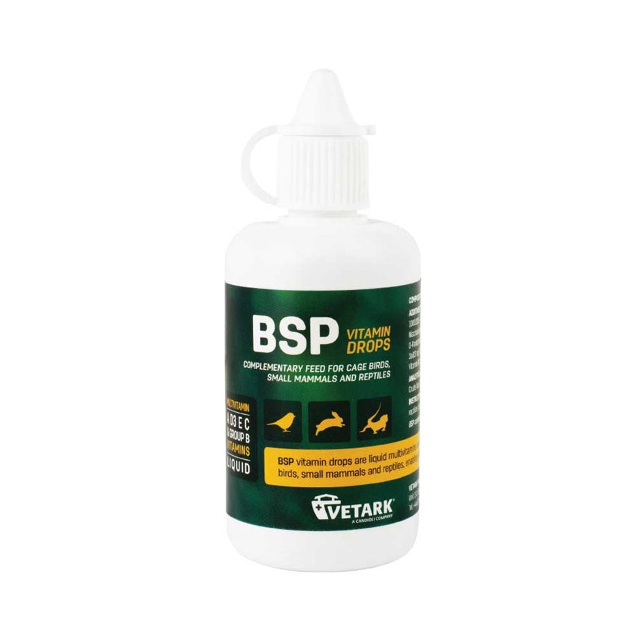 Vetark BSP Vitamin Drops For Reptiles, 50ml
