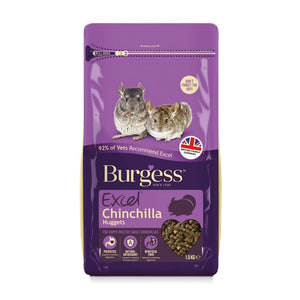 Burgess Excel Chinchilla Nuggets 1.5kg
