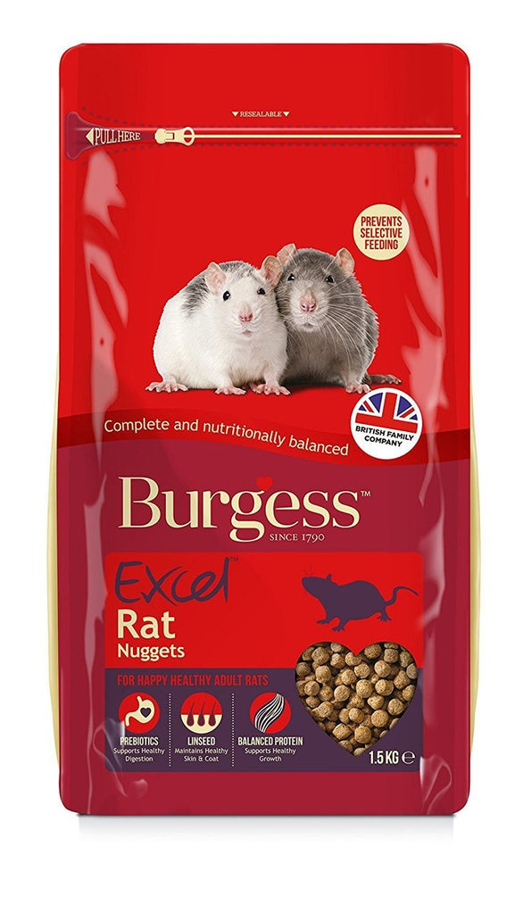 Burgess Excel Rat Complete Food 1.5kg