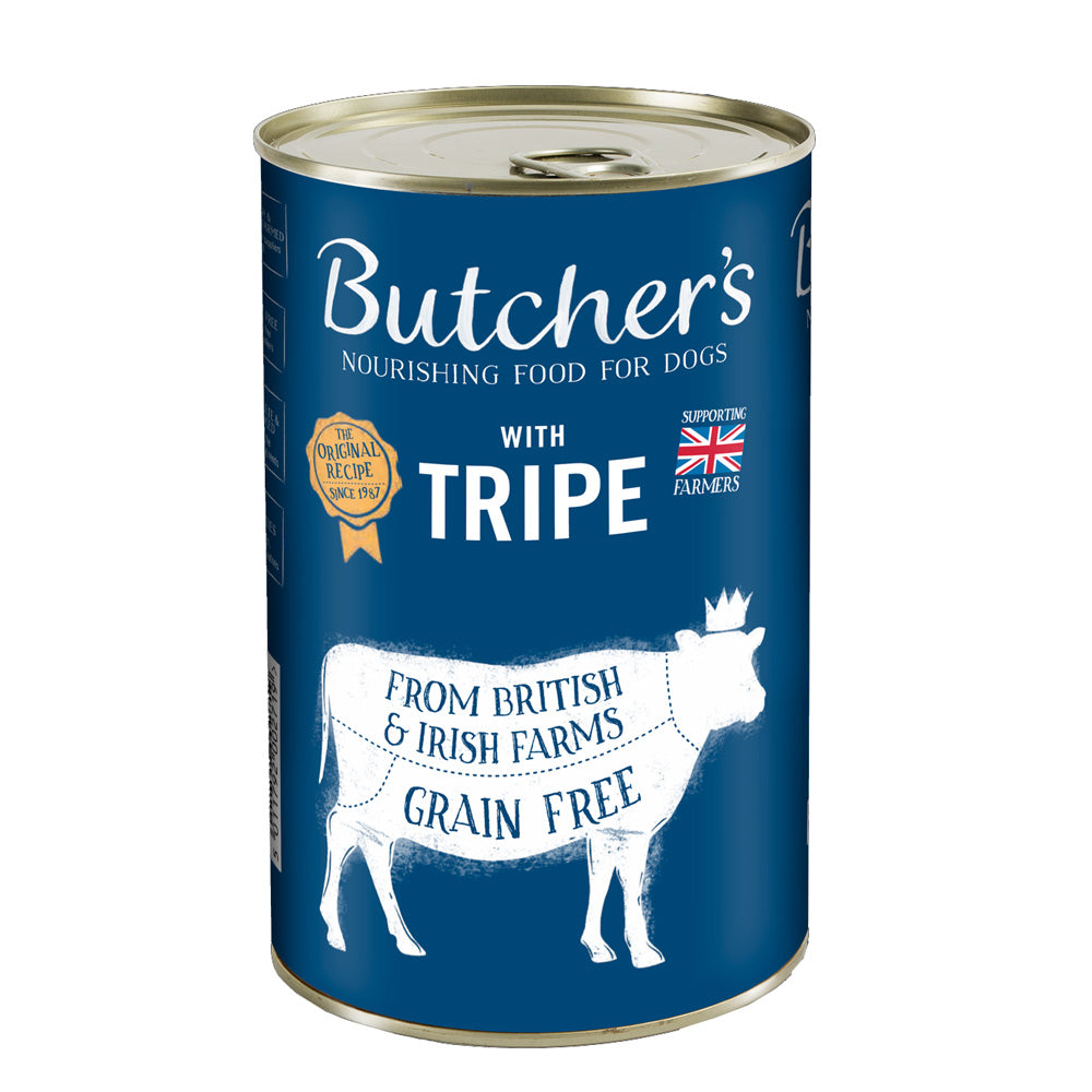 Butchers With Tripe Can Grain Free 400g