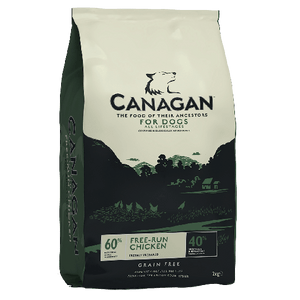 Canagan Free Run Chicken Grain Free Dog Food 2Kg