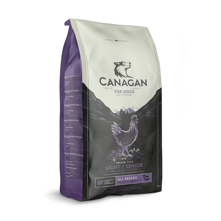 Canagan Dog Light/Senior 12kg