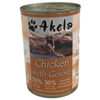 Akela Chicken With Goose Dog Can 400g
