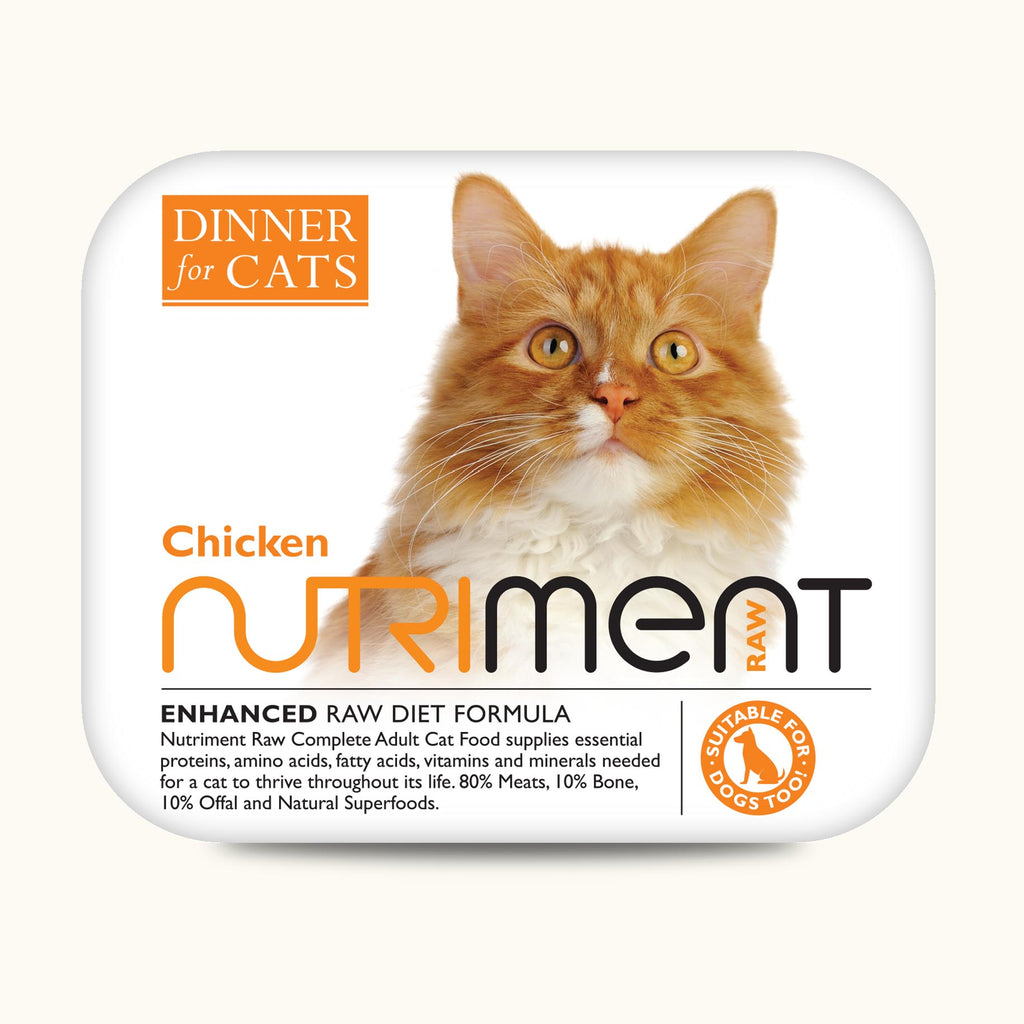 Nutriment Dinner For Cats Chicken 175g
