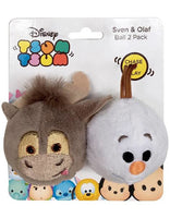 Tsum Tsum Svan & Olaf Cat Toy Balls 2 Pack