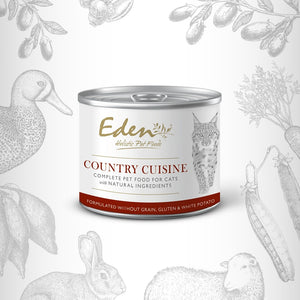 Eden Wet Food For Cats: Country Cuisine 200g