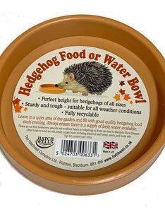 Hatchwells Hedgehog Bowl for Food or Water