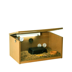 Leopard Gecko Starter Kit - 2ft Oak Terrarium
