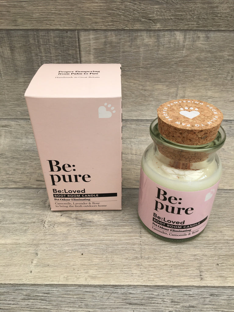 Be: Pure Boot Room Candle - Pet Odour Eliminating 150ml