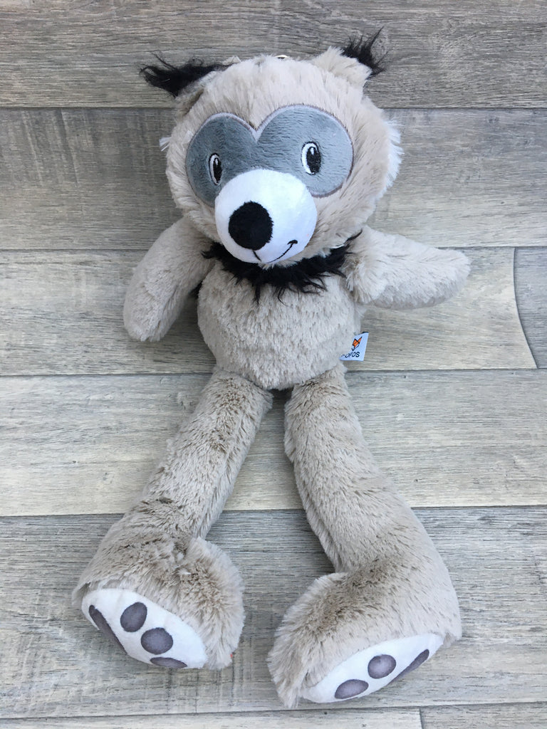 Fofos Snuggle Bear Plush Squeaky Dog Toy