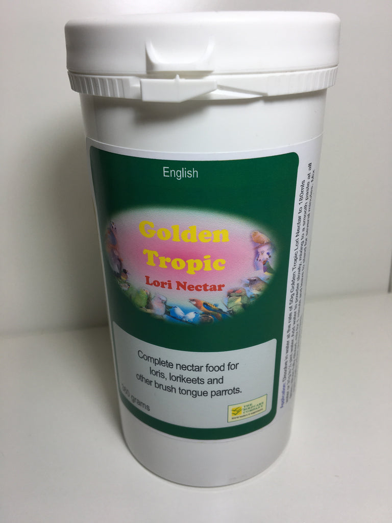 Golden Tropic Lori Nectar - 360g