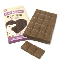 Leaps & Bounds Milk Chocolate Bar For Dogs 100g
