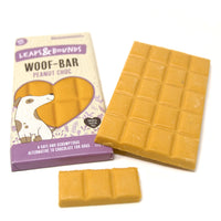 Leaps & Bounds Peanut Chocolate Bar For Dogs 100g