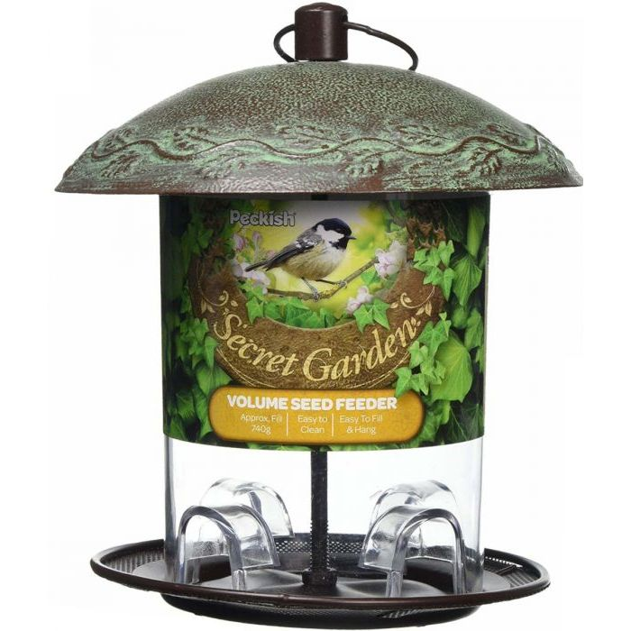 Peckish Secret Garden Volume Wild Bird Seed Feeder