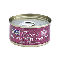 Fish4Cats Mackerel With Anchovy Cat Food Tin, 70g
