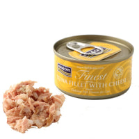 Fish4Cats Tuna Plus Cheese Cat Food Tin, 70 G