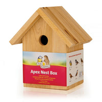 Wooden Nest Box Apex 32mm Hole