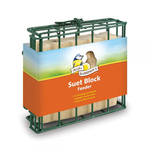 Walter Harrisons Suet Block Feeder 12cm