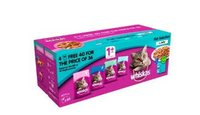 Whiskas Adult Cat Pouches Fish Selection In Jelly 40 X 100g